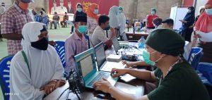 Jemaah Calon Haji Bolmong Ikuti Vaksinasi Covid-19