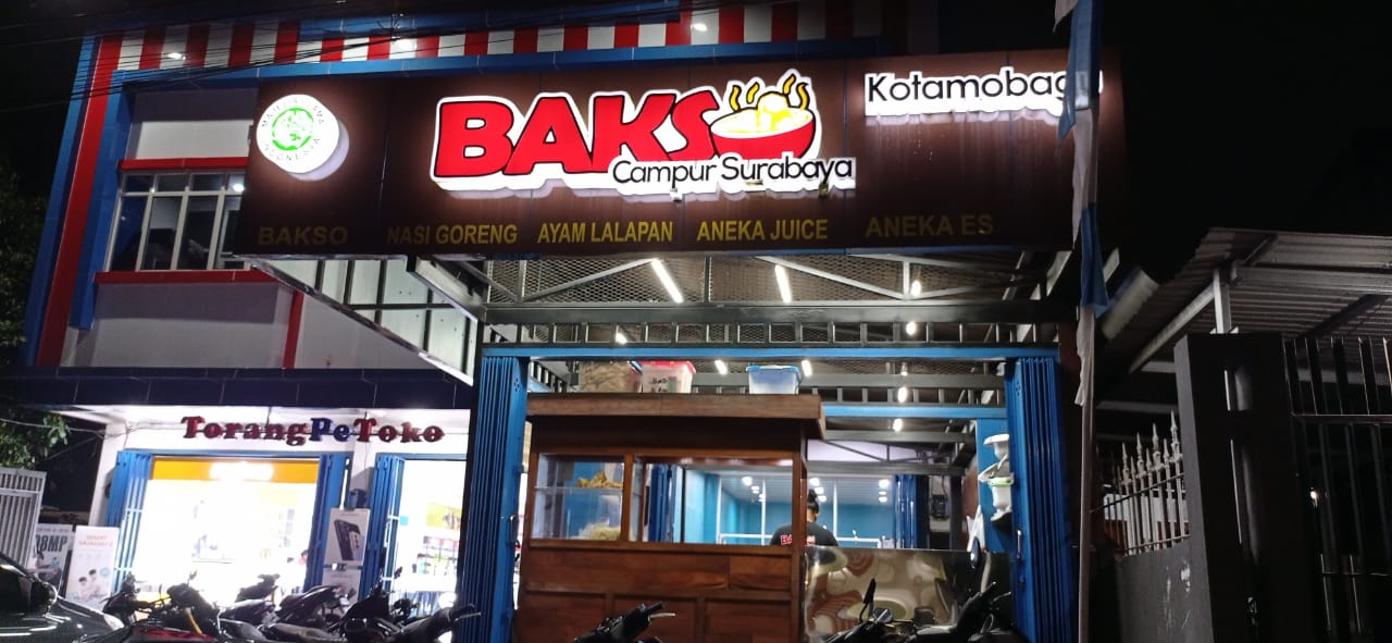 Kedai Bakso Surabaya di Kotamobagu
