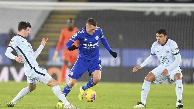 Chelsea dan Leicester dua finalis Piala FA 2020/2021. (AP/Tim Keeton)