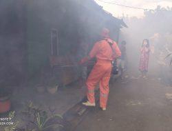 Dinkes Bolmong Lakukan Fogging di Tiga Desa Wilayah Kerja Puskesmas Tungoi