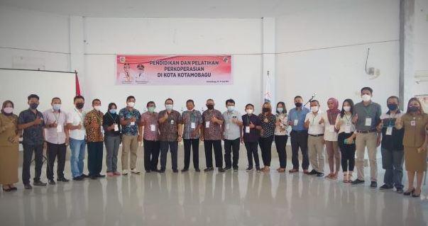 Pelatihan Olah dan Administrasi Koperasi Kotamobagu.