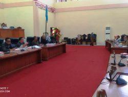 Komisi III DPRD Bolmong RDP dengan Dua SKPD
