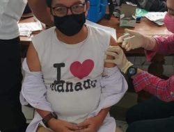 Penyelenggara Pemilu di Kotamobagu Jalani Vaksinasi Covid-19