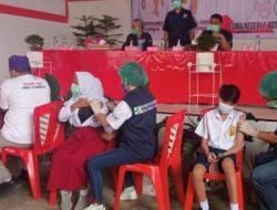 Sulut Launching Vaksinasi Siswa, Kotamobagu Berlangsung di SMK 1