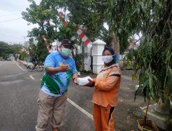 Gairahkan Semangat Bangkit dari Pandemi, BMR Forum Hijau Bantu Warga yang Isoman