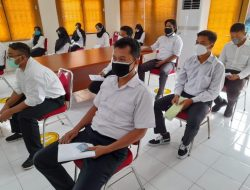 Tes CPNS Kemenkes di UPT BKN Ternate Disiplin Protokol Kesehatan