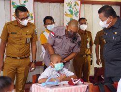 Bupati Bolmut Tinjau PTM Terbatas di Tiga Kecamatan