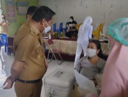Vaksinasi Covid-19 Berlanjut di Kecamatan Modayag Boltim