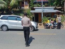 Jumlah Kasus Turun, Polsek Lolayan Ingatkan Warga dengan Tetap Lakukan Operasi Yustisi Covid-19