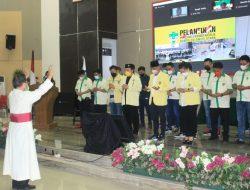 Pengurus Pemuda Katolik Komda Sulut Periode 2020-2023 Resmi Dilantik