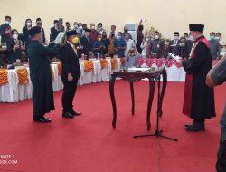 DPRD Bolmong Gelar Paripurna Pelantikan PAW Wakil Ketua DPRD