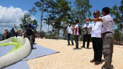Pengurus Paralayang Indonesia Sebut Arena PON XX Papua Terbaik