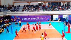 Tim Voli Indoor Putra Sulut Kalah 2-3 dari Putra Papua